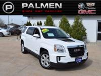Summit White 2017 GMC Terrain SLE-1 FWD 6-Speed