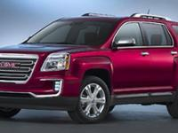 The GMC Terrain is designed to be the perfect