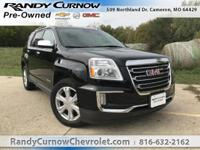 Options:  2017 Gmc Terrain Slt|Onyx Black|Jet Black