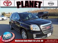 2017 GMC Terrain SLT Black AWD. CARFAX One-Owner. After