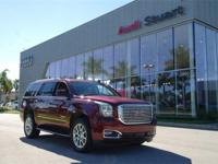 *1-Owner *Clean Carfax, *Crimson Red 2017 GMC Yukon