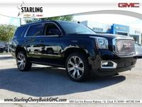 Recent Arrival! This 2017 GMC Yukon Denali in Black