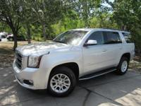 This 2017 GMC Yukon 4dr 2WD 4dr SLT features a 5.3L 8