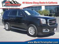 GMC Certified, CARFAX 1-Owner. SLT trim. 3rd Row Seat,