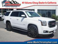 CARFAX 1-Owner, GMC Certified. SLT trim. Third Row