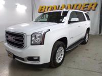 Check out this certified 2017 GMC Yukon SLT. Its