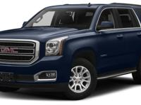 Treat yourself to this 2017 GMC Yukon SLT, which