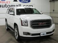 CARFAX One-Owner. Clean CARFAX. Summit White 2017 GMC