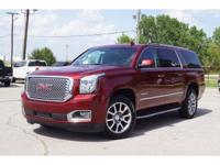 CARFAX One-Owner. Clean CARFAX. Crimson Red 2017 GMC