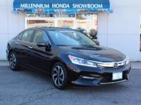 This Honda Certified Accord Sedan EX CVT is a New