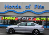 PREMIUM & KEY FEATURES ON THIS 2017 Honda Accord Sedan