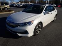 White Orchid Pearl 2017 Honda Accord EX-L FWD 6-Speed