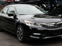 Certified. 2017 Honda Accord EX-L w/Navigation and
