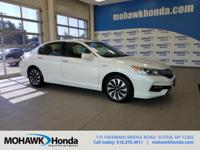 Recent Arrival! This 2017 Honda Accord Hybrid in White