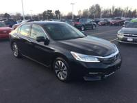 9,000 mile Accord Hybrid with Navigation and driver