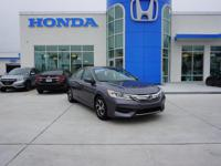"Certified. ***HONDA CERTIFIED***, Cloth, 16"" Alloy"
