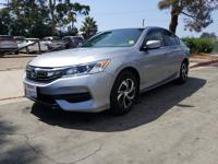 Options:  2017 Honda Accord Sed Lx|Silver|What You Can