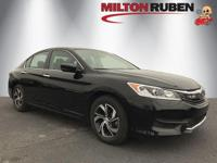 This 2017 Honda Accord Sedan 4dr LX CVT features a 2.4L