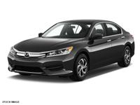 This Honda won't be on the lot long! This is an