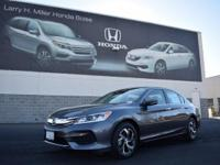 Scores 36 Highway MPG and 27 City MPG! This Honda