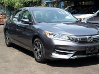 Recent Arrival! Certified. 2017 Honda Accord LX Modern