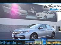 Snag a bargain on this 2017 Honda Accord Sedan LX