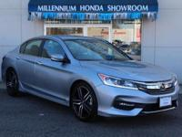 This Honda Certified Accord Sedan Sport SE CVT is