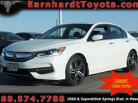 We are thrilled to offer you this *1-OWNER 2017 HONDA