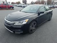 Crystal Black Pearl 2017 Honda Accord Sport FWD CVT