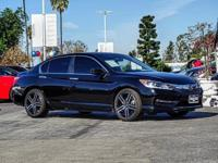 CARFAX One-Owner. Clean CARFAX. Black 2017 Honda Accord