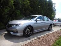 We are excited to offer this 2017 Honda Accord Sedan.