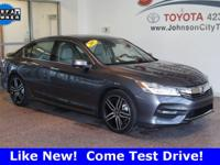 New Price! 2017 Modern Steel Metallic Honda Accord GET