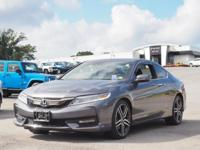 This reliable 2017 Honda Accord TOURING comes with a