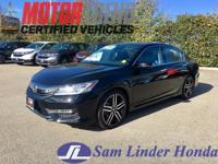 Options:  2017 Honda Accord Touring|Advertised Price