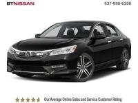 One Owner, Leather, Heated Seats, Accord Touring, 4D