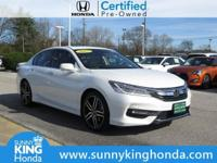 Recent Arrival! 2017 Honda Accord Touring Certified.