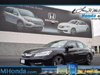 Scores 33 Highway MPG and 21 City MPG! This Honda