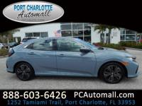 CARFAX One-Owner. Clean CARFAX. Gray 2017 Honda Civic