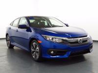 2017 Honda Civic AUX/USB PORT, CLEAN CARFAX, LOW MILES,