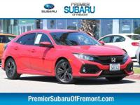Options:  2017 Honda Civic Ex-L 4D Hatchback|Navigation