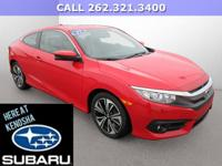 ONLY 11K MILES! 2017 HONDA CIVIC EX-T! BLUETOOTH, BACK
