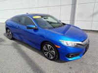 New Price! 2017 Honda Civic EX-T CARFAX One-Owner.