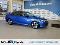 Recent Arrival! This 2017 Honda Civic EX-T in Aegean