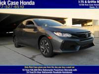 Options:  2017 Honda Civic Hatchback Lx|/|V4 1.5 L