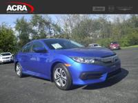 A few of this used Civic Sedan's key features include: