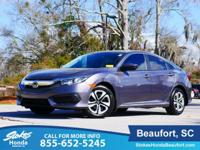2017 Honda Civic in Steel. Gry Cloth. ATTENTION!!! In a