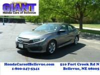 You can find this 2017 Honda Civic Sedan Sedan LX and