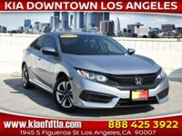 CARFAX One-Owner. Clean CARFAX. Silver 2017 Honda Civic