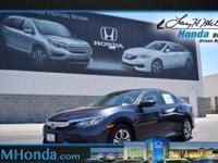 Scores 40 Highway MPG and 31 City MPG! This Honda Civic