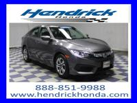 CARFAX 1-Owner, Honda Certified Warranty, ONLY 14K